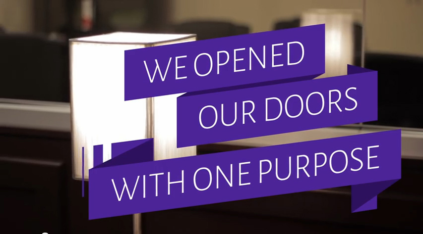 We Opened Our Doors With One Purpose